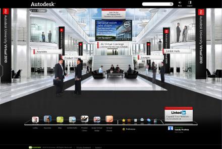 Autodesk University Virtual 2010
