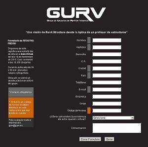 6ª reunión GURV